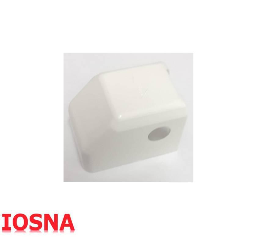 Embellecedor bisagra color blanco marca ROTO
