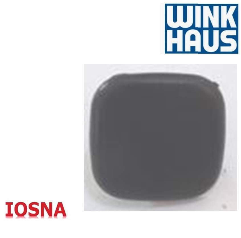 Tapon bisagra P700, color negro, Winkhaus